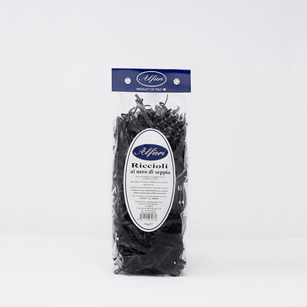 riccioli al nero di seppia